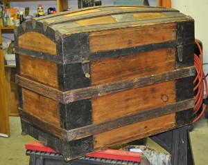Restore Antique Trunks, The Project