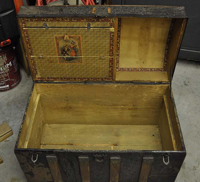 Restore Antique Trunks, the bottom