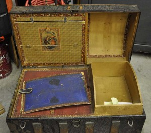 Restore Antique Trunks, The Inside