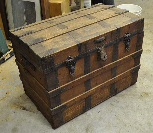Vintage Steamer Trunks
